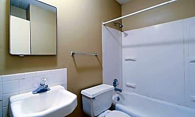 Bathroom, Campus View Apartments, 2