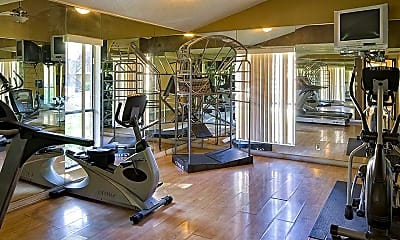 Fitness Weight Room, The Retreat at Candelaria, 2