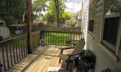 Patio / Deck, 57 Greenwood Ave 1, 2