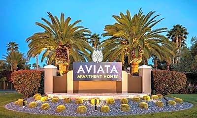 Community Signage, Aviata Luxury Apartments, 2