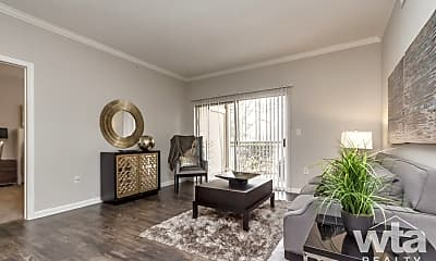 Living Room, 10015 Lake Creek Pkwy, 2