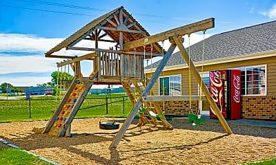 Playground, Falls Park, 1