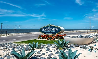 Community Signage, The Grande View Apartments, 0
