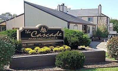 Community Signage, Cascade Apartments, 0