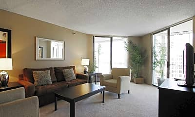 Living Room, Promenade Towers, 1