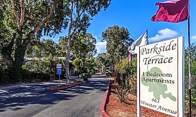 Community Signage, Parkside Terrace, 2