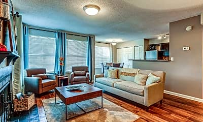 Living Room, Summer Lake Apartments, 1