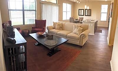 Living Room, Haven at Highland Knolls, 0
