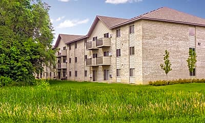 Building, White Pines Apartments, 0