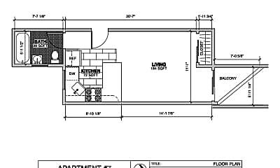 Bathroom, 1460 Sutter St, 2