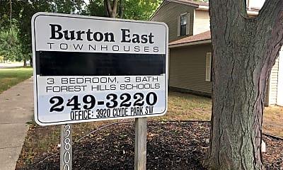 Burton East townhouses, 1