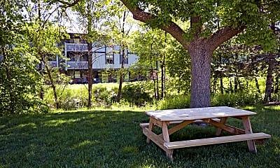 Recreation Area, American Colony Apartments, 0