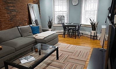 Living Room, 85 Waltham St, 0