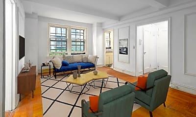 Living Room, 24 Monroe Place, 0