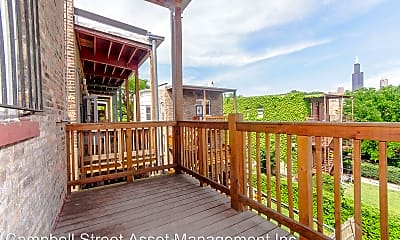 Patio / Deck, 709-711 S Ada Street - 709-3, 1