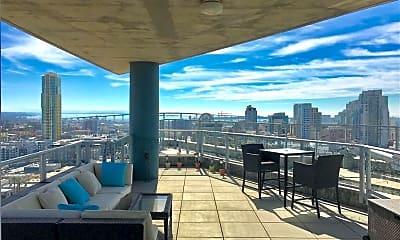 Patio / Deck, 1080 Park Blvd 1710, 1