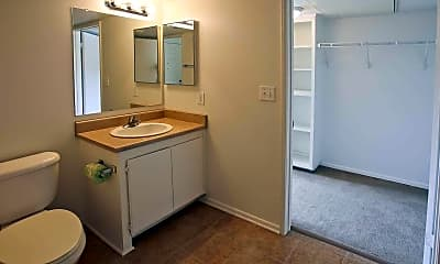 Bathroom, Bouquet Canyon Senior Apartments, 2