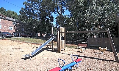 Playground, Hyde Park Townhomes, 2