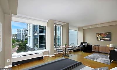 Living Room, 1101 3rd St SW 305, 1