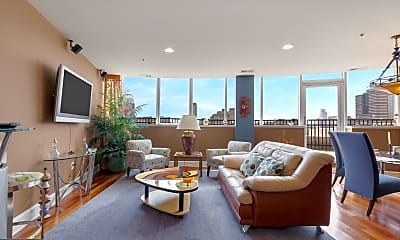 Living Room, 201 N 8th St 905, 1