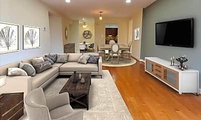 Living Room, 6050 California Cir 408, 1