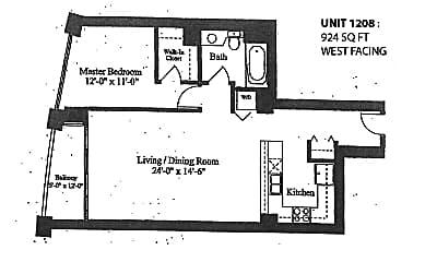 1235 S Prairie Ave 1208, 2