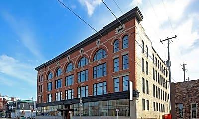 Building, Mercantile Lofts, 2