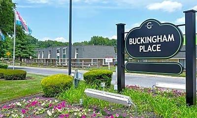 Community Signage, Buckingham Place Townhomes, 2
