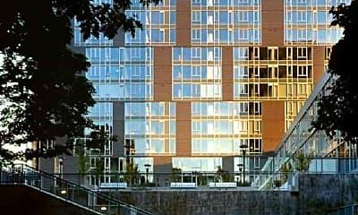 Building, Cyan / PDX, 1