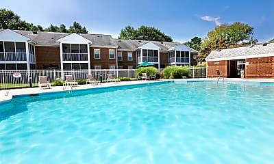 Pool, Rose Hall Apartments, 0