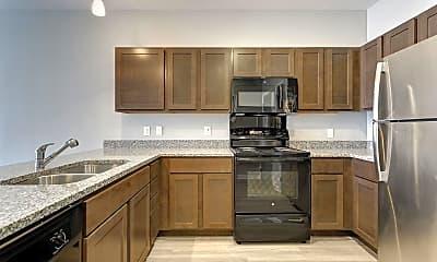 Kitchen, Patterson Flats, 1