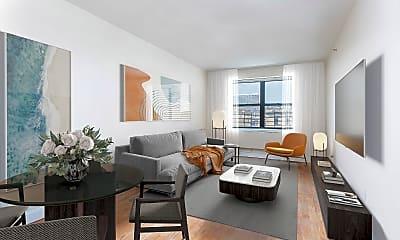 Living Room, 2373 Adam Clayton Powell Jr Blvd 5-B, 1