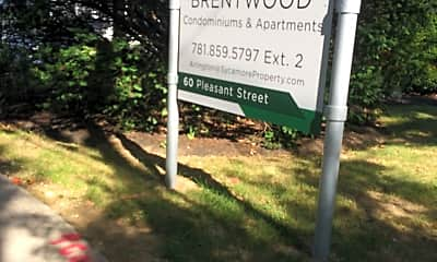 The Brentwood Apartments, 1
