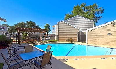 Pool, Waterchase Apartments, 1