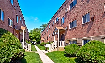 Building, Woodview Apartments, 1