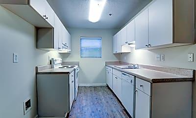 Kitchen, Aplin Apartments, 1