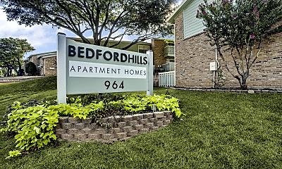 Community Signage, Bedford Hills Apartments, 0