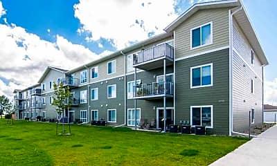 Building, Agassiz Apartments, 1