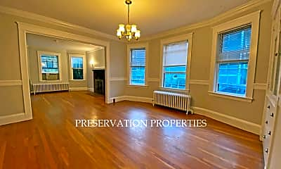 Living Room, 123 Mt Vernon St, 1