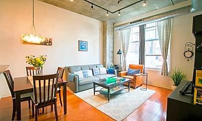 Living Room, 130 N 2nd St 2B, 0