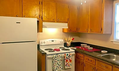 Kitchen, Country Club Apartments, 0