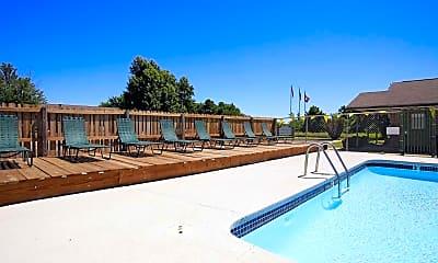 Pool, Maple Manor Apartments, 0