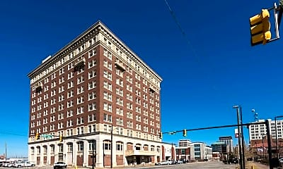 Building, Jefferson Davis Apartments, 0