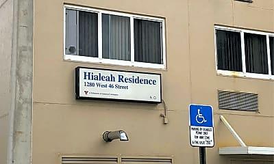 Hialeah Residence, 1