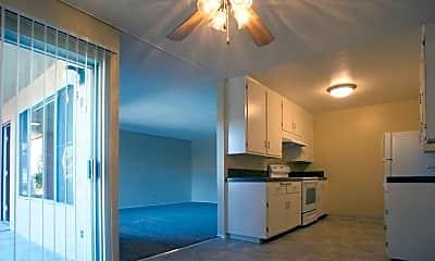 Kitchen, Sunset Villa Apartments, 1