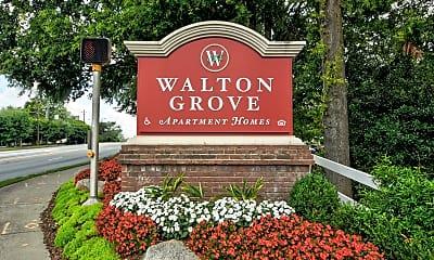 Community Signage, Walton Grove, 2