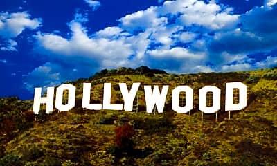 Community Signage, 7459 Hollywood Blvd, 2