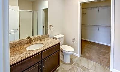 Bathroom, Strathmore Apartments, 2