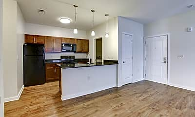 Kitchen, The Fred Apartment Homes, 1