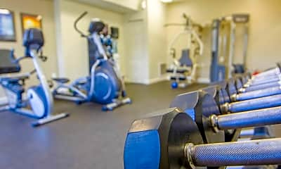 Fitness Weight Room, The Estate at Princeton Reserve, 2